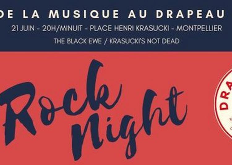 Rock Night The Black Ewe - Krasucki's Not Dead à Montpellier