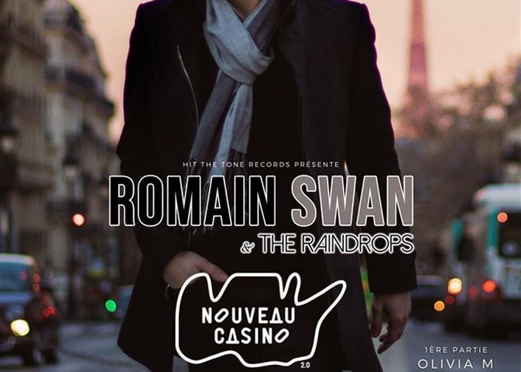 Romain Swan And The Raindrops à Paris 11ème