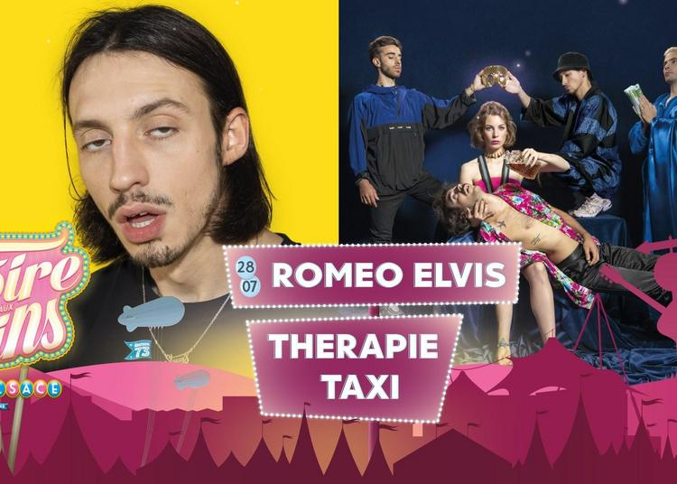 Roméo Elvis et Thérapie Taxi à Colmar