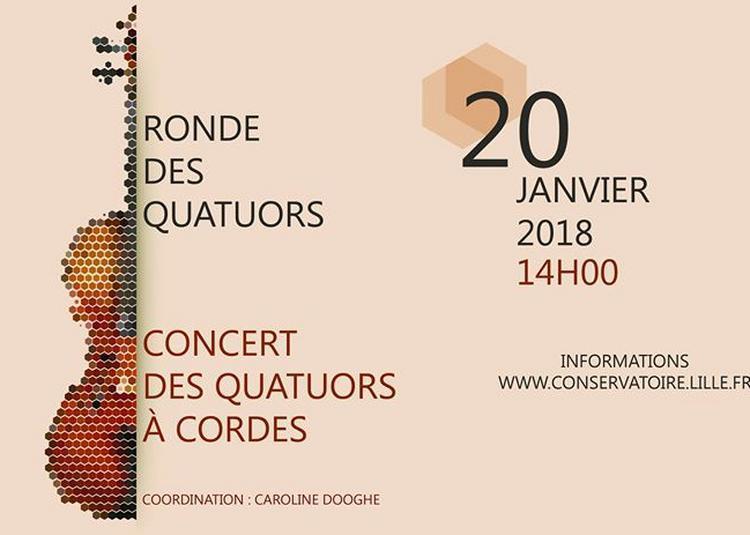 Ronde des quatuors et Quatuors à cordes à La Madeleine