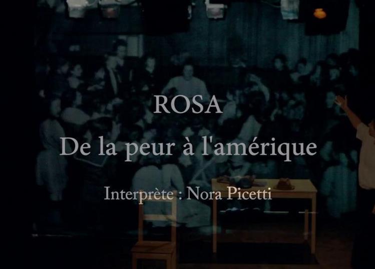 Rosa de la peur à l'Amérique - Une histoire vraie de migration et liberté à Nantes