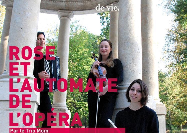 Rose et l'automate de l'opéra à Auxerre