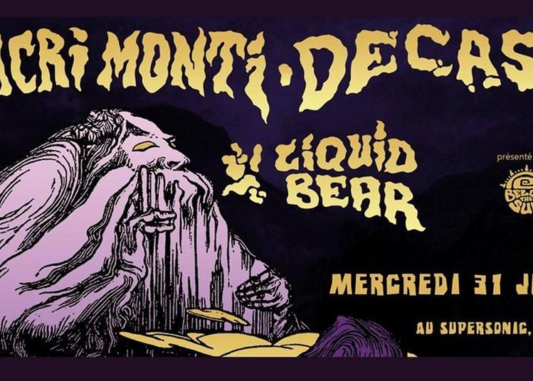 Sacri Monti Decasia Liquid Bear à Paris 12ème