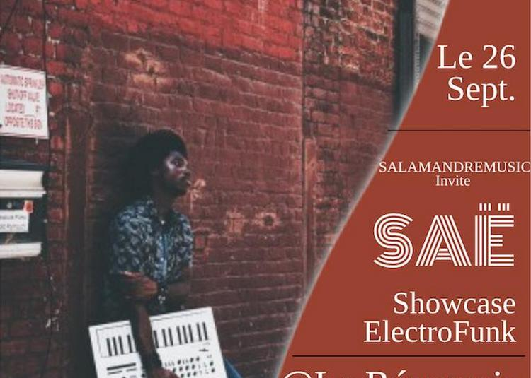 Saë-showcase Electrofunk à Paris 11ème