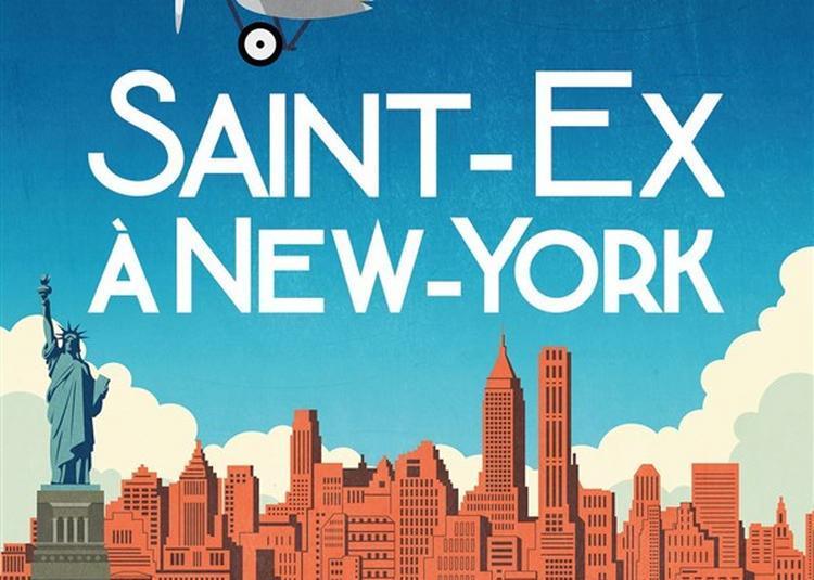 Saint-Ex à New-York à Paris 14ème
