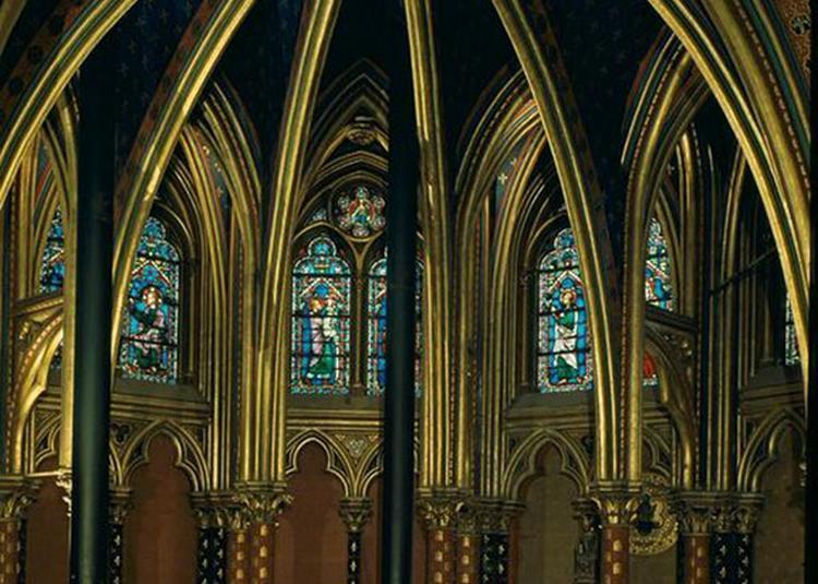 Sainte-Chapelle à Paris 1er