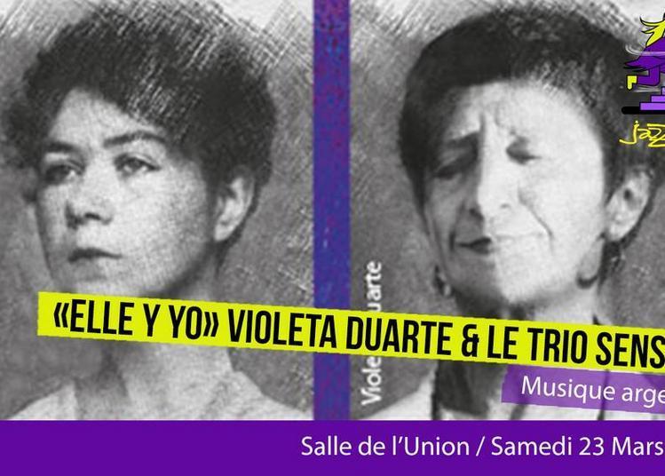 Saison Jazzèbre  -  «ella Y Yo» Violeta Duarte Et Le Trio Sensible à Ceret