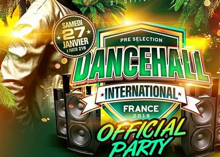 Dancehall International France 2018   Official Party   Dj Masterwill à Montpellier