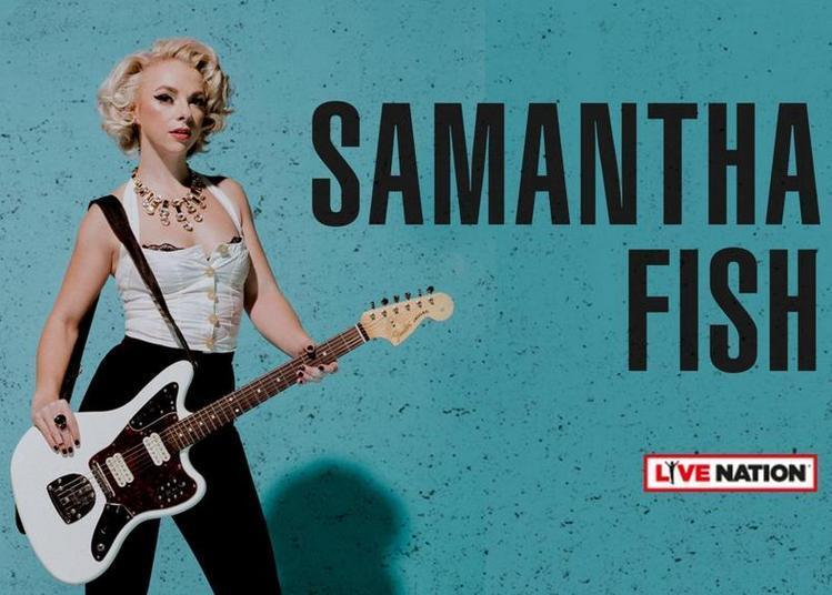 Samantha Fish à Paris 11ème