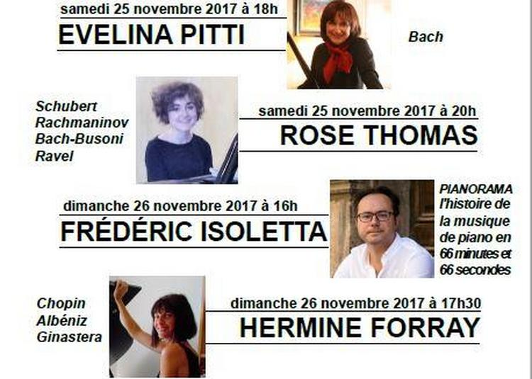 Samedi-dimanche musical d'automne à Marseille