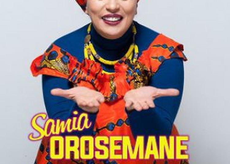 Samia Orosemane à Paris 11ème