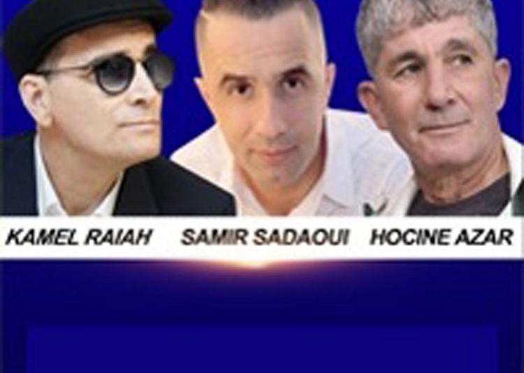Samir Sadaoui, Hocine Azar Et Kamel Raiah à Paris 9ème