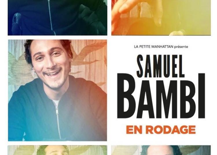 Samuel Bambi à Paris 2ème
