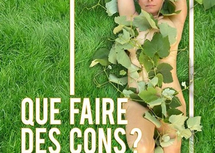 Sandra Colombo Dans Que Faire Des Cons ? à Paris 11ème