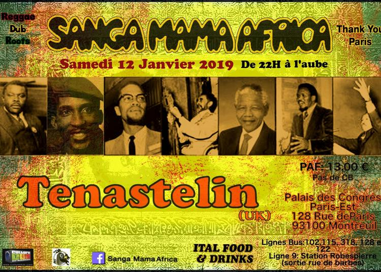 Sanga Mama Africa & Tenastelin (Uk) 2019
