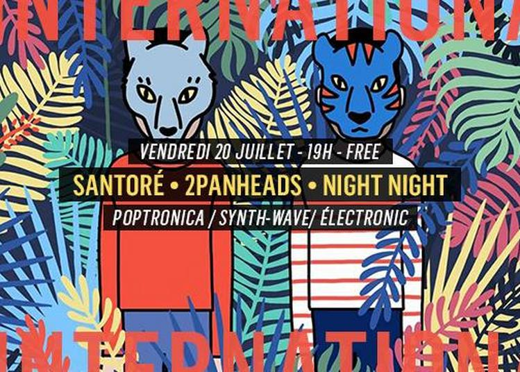 Santoré - 2PanHeads - Night Night à Paris 11ème