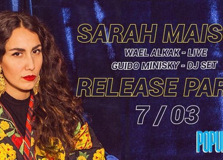 Sarah Maison Release Party à Paris 12ème