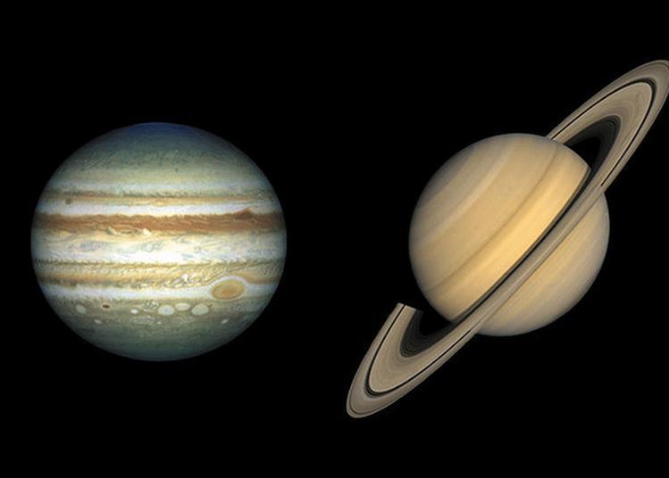 Saturne Et Jupiter, Rencontre Au Sommet. à Aix en Provence