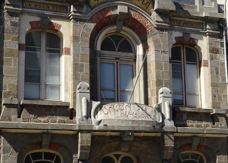 Sauvegarde Et Restauration Maison Du Peuple . Bâtiment Inscrit Au Répertoire Supplémentaire Des Monuments Historiques.historiques. à Saint Malo