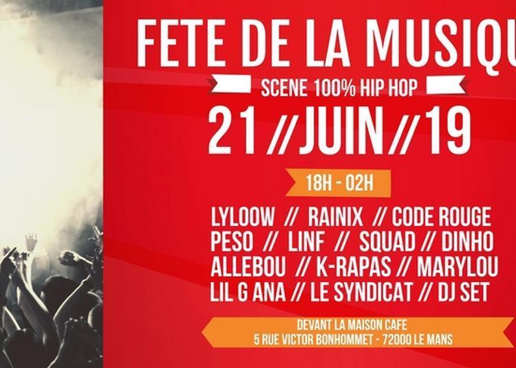 Scène 100% Hip-hop à Le Mans