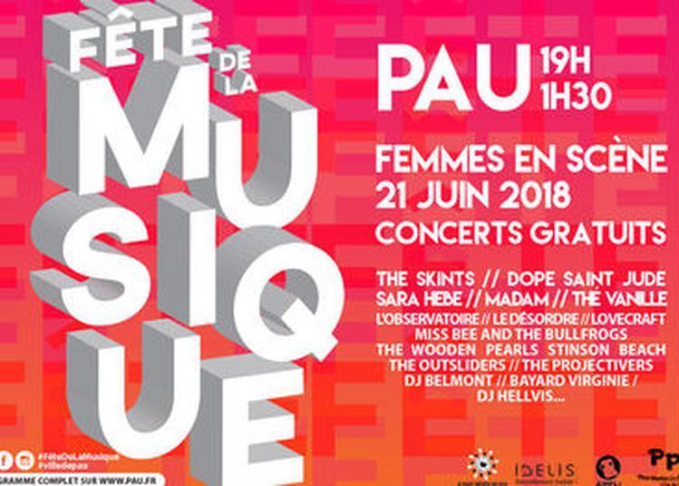 Scène Boulevard : DJ Hellvis à Pau