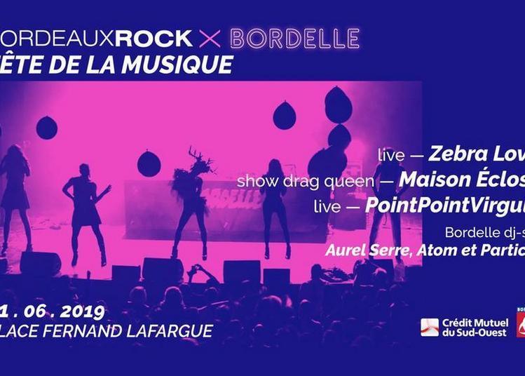 Scène Electro Pop rock par Bordeaux Rock et La Bordelle
