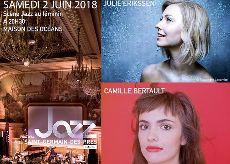 Scène Jazz au féminin : Julie Erikssen / Camille Bertault à Paris 6ème