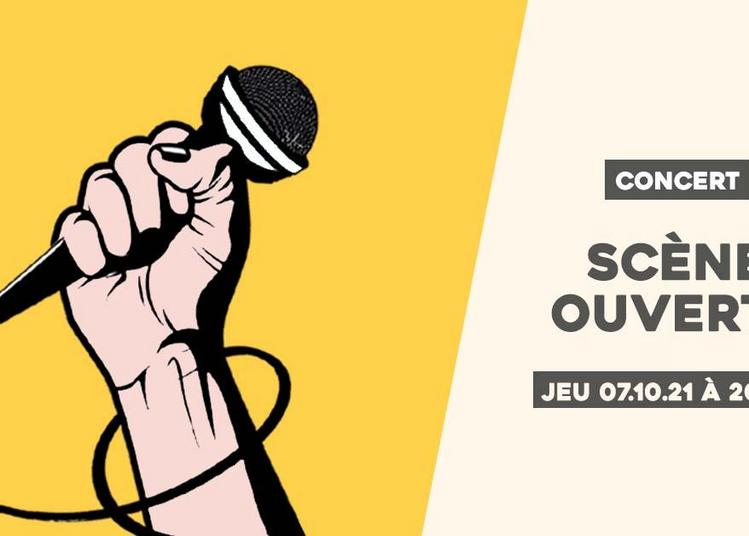 Scène ouverte du jeudi // Tous groupes & tous styles à Sceaux