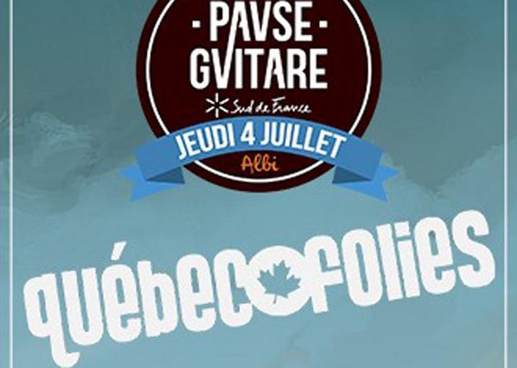 Scene Quebecofolies à Albi