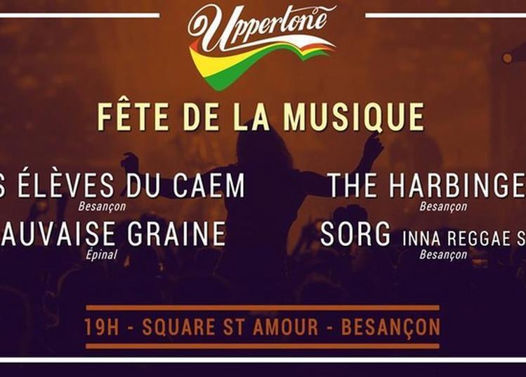 Scène Uppertone: Sorg, The Harbingerz, Mauvaise Graine, élèves Du Caem à Besancon
