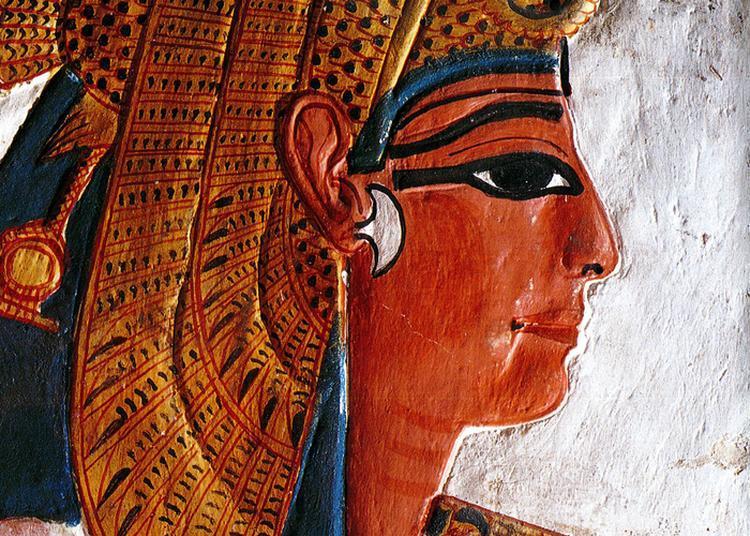 Scènes Théâtralisées Autour De La Galerie Égyptienne Du Musée De Tessé à Le Mans