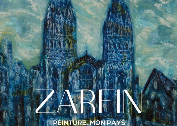 Schraga Zarfin (1899-1975), peinture, mon pays à Paris 6ème