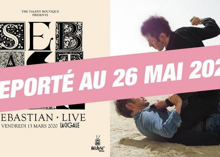 Sebastian Live à Paris 18ème