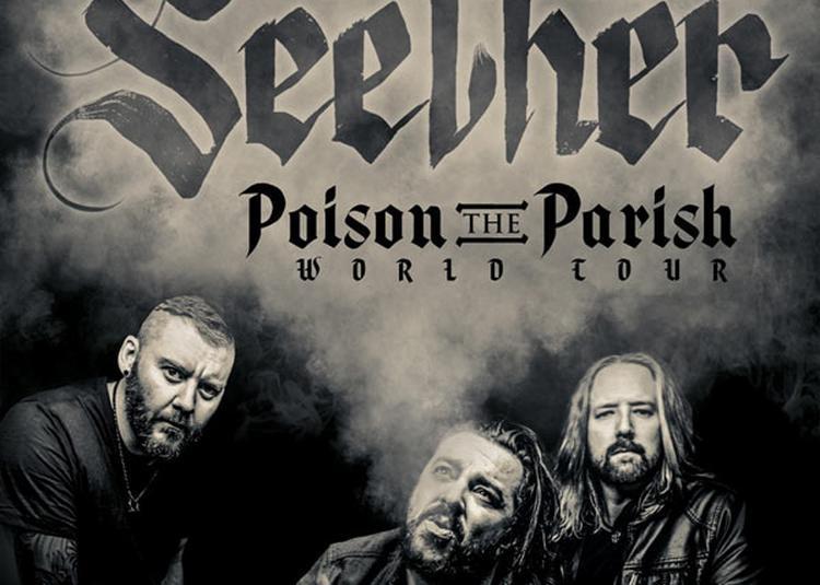 Seether à Paris 11ème