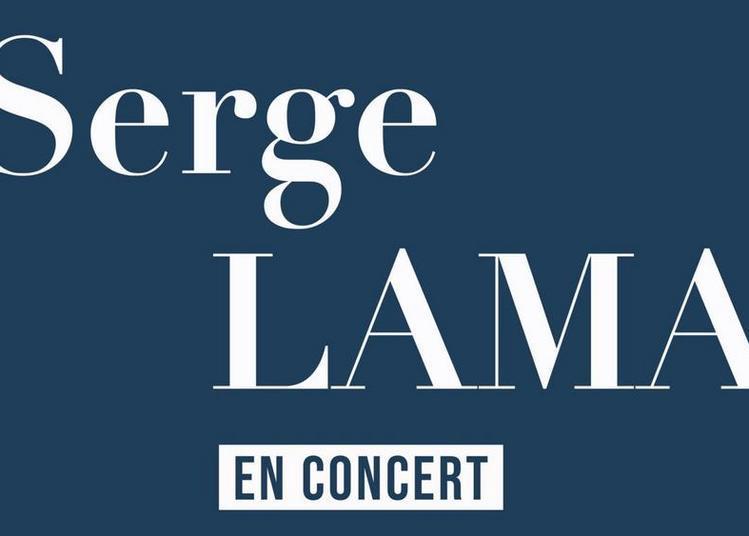 Serge Lama - report à Paris 17ème