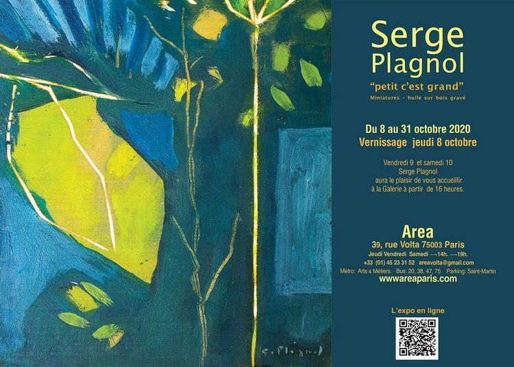 Serge Plagnol Petit, c'est grand! à Paris 3ème