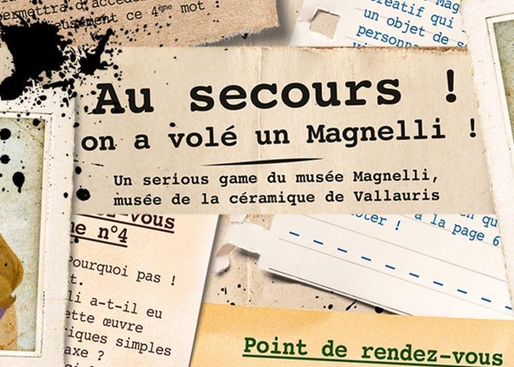 Serious Game « Au Secours, On A Volé Un Magnelli ! » à Vallauris