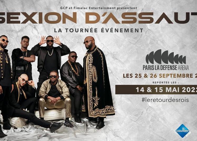 Sexion D'Assaut - report à Nanterre