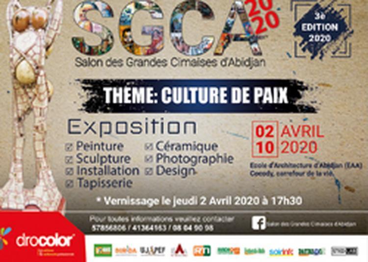 Salon des Grandes Cimaises d'Abidjan à Paris 12ème