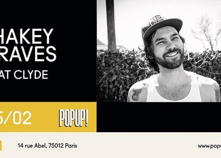 Shakey Graves + Cat Clyde à Paris 12ème