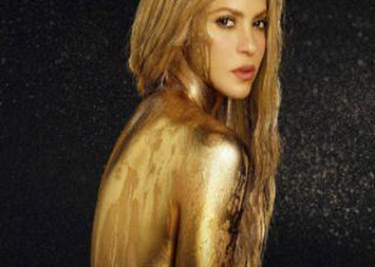 Shakira à Paris 12ème