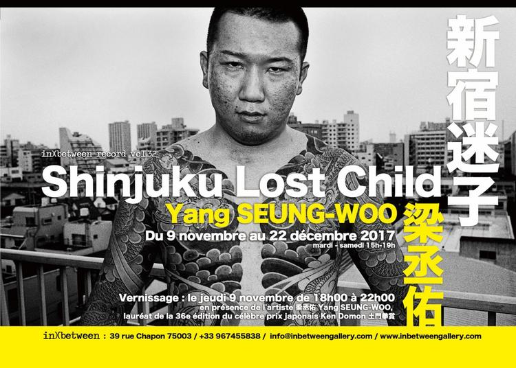 Shinjuku Lost Child in)(between record vol.32 Yang SEUNG-WOO à Paris 3ème