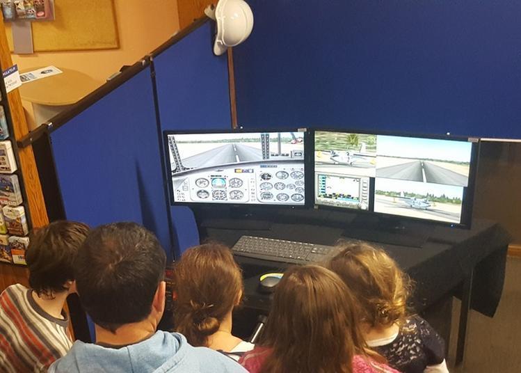 Simulateur De Vol Et Démonstration Imprimante 3 D à Biscarrosse