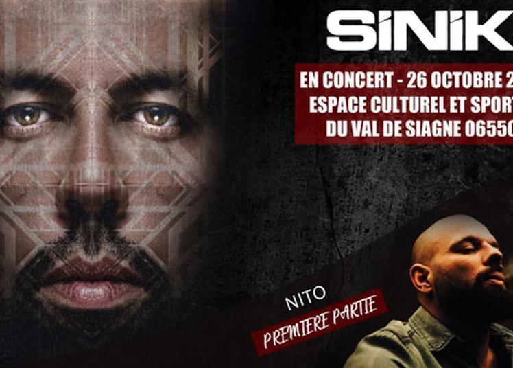 Sinik En Concert à La Roquette sur Siagne