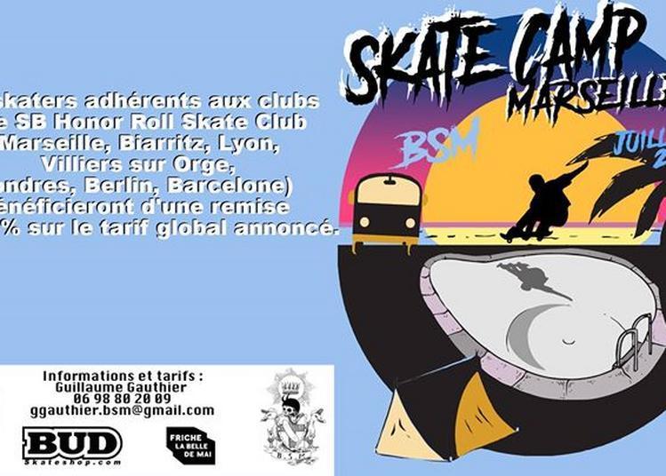 Skate Camp Bsm à Marseille
