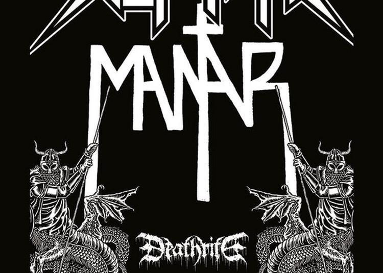 Skeletonwitch , Mantar & Deathrite à Colmar