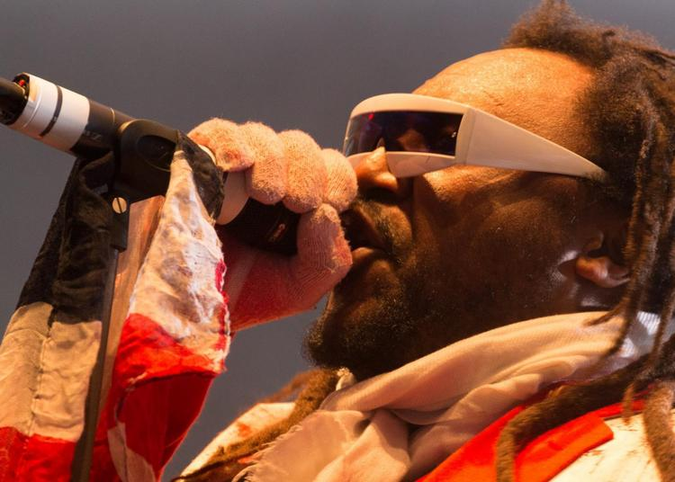 Skindred à Paris 20ème