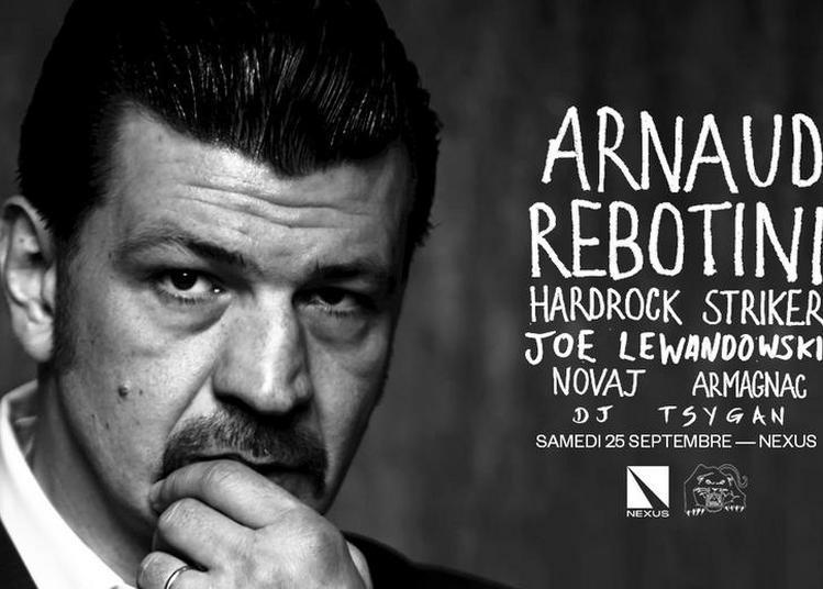 Skylax w/ Arnaud Rebotini, Hardrock Striker, Joe Lewandowski, Armagnac, Novaj, DJ Tsygan à Pantin