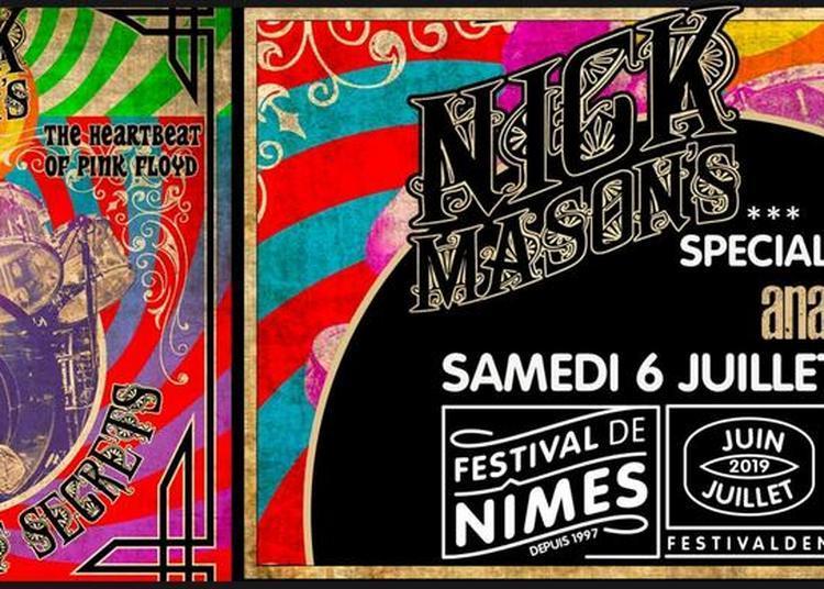 Nick Mason et AnaThema à Nimes