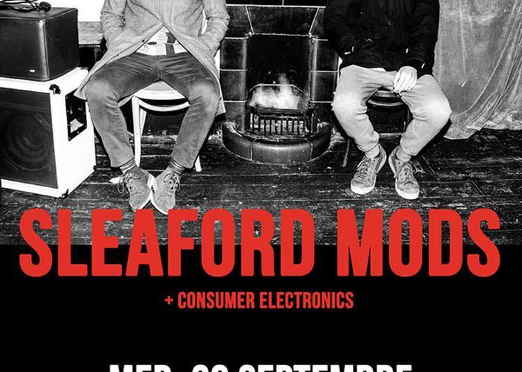 Sleaford Mods à Paris 18ème